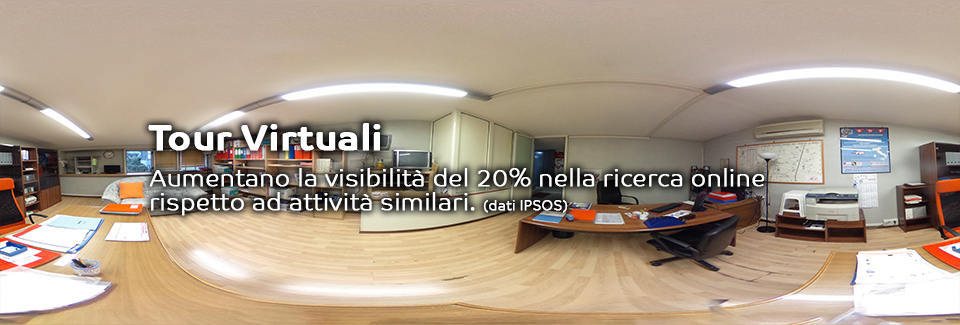 VIRTUAL TOUR E FOTO 360 GRADI PANORAMA O SFERICA